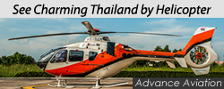 See Thailand by helicopter.