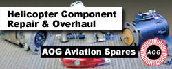 Helicopter Component Repair & Overhaul by AOG Aviation Spares