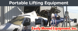Easily Moved Equipment - Portable Lifting Equipment.
