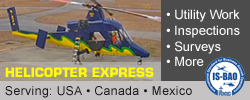 Helicopter Express: Serving: USA, Canada & Mexico.