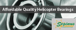 Affordable Quality Helicopter Bearings by Seginus.