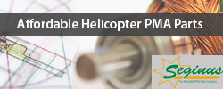 Affordable helicopter PMA parts by Seginus.