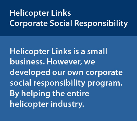 Helicopter Links Corporate Social Responsibility
