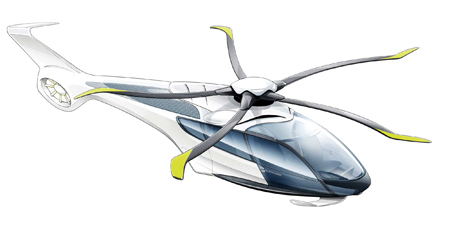 Airbus Helicopters X4 artist impression.