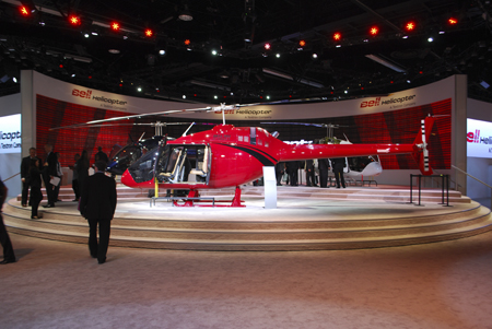 Bell 505 Jet Ranger X displayed at Heli-Expo 2014.