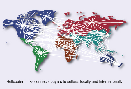 Helicopter Links connects buyers with sellers-online.